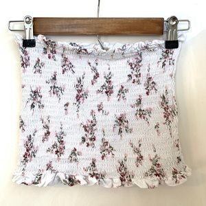 Ditsy Floral Tube Top